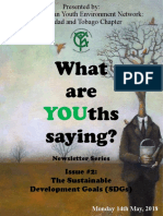 What Are YOUths Saying? (Issue #2)
