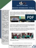 Boletin Informativo Abril Sismos Bolivia