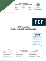 PO L014 ELE 004 Cruce Línea Bajo Circuitos Energizados - REV1