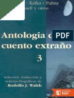 Antologia Del Cuento Extrano Numero 3