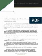Freedom Foundation Letter