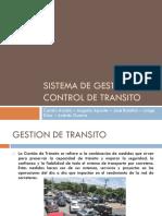 Sistema de Gestión y Control de Transito V1