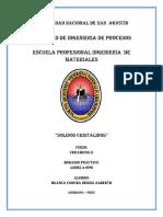 PRACTICA N°2 (SOLIDOS CRISTALINOS)