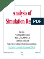 Analysis of Simulation Results - Raj Jain