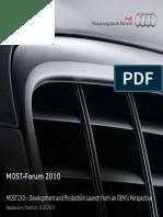 2010 MOST Forum p01 Audi Keynote