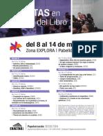 Cartel Feria Del Libro 2018