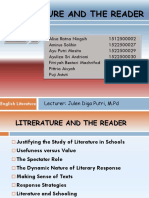 Litrerature and the Reader