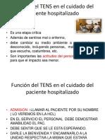 Funciones Del Tens en Hospitalizados.