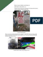 Laporan Hasil Observasi Sistem Ac