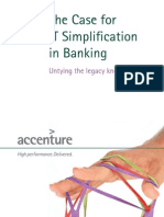 Accenture Banking IT Simplification