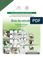 Ingreso 2018 25 Tec Doc Edu Primaria