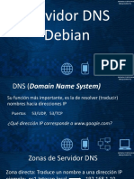 Servidor DNS Debian