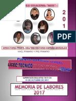 5. MEMORIA DE LABORES 2017 LTVMA.pptx