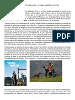 REFLEXIONES DEL CONFLICTO ARMADO EN COLOMBIA A PARTIR DEL CINE