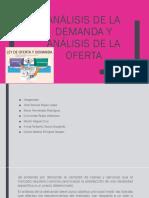 Análisis de La Demanda y Análisis de La