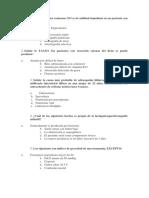 Examen Univalle Especialidades Clinicas