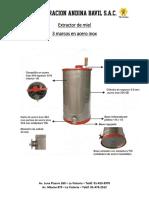 Extractor de Miel Especificaciones Técnicas (1)
