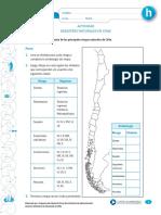 Actividad Desastres Naturales en Chile