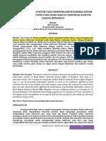 4. ANALISIS FAKTOR-FAKTOR YANG MEMPENGARUHI KINERJA SISTEM (BENGKULU).pdf