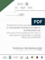 sindrome hiperglucemico