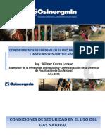 Condiciones Seguridad Uso Del Gas Natural Instaladores Certificados