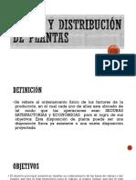 Diseño y Distribución de Plantas