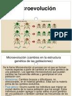 Clase 2 - Microevolucion