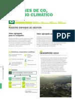 Emisiones de CO2 y Cambio Climatico