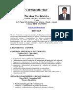 Benjamin Castillo Curriculum 2016