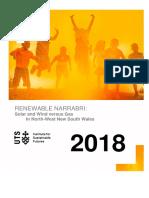 Narrabri Renewable Job Opportunities report