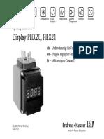 Display Phx20, Phx21