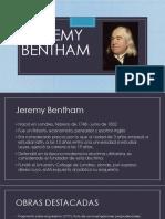 26. Jeremy Bentham