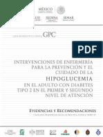 Intervenciones de Enfermeria Para La Prevencon y Cuidado de La Hipoglicemia