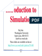 Introduction to Simulation - Raj Jain