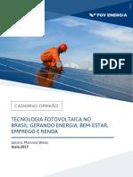 Coluna Opiniao-Tecnologia Fotovoltaica
