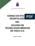 Codigo de Etica y Deontologia Colegio Tecnologos Medicos