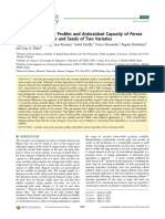 2012 Phenolic Compound Profiles and Antioxidant Capacity of Persea