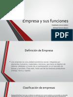 Empresa y Sus Funciones (1)