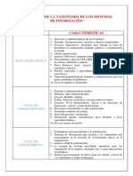 Elementos de La Taxonomía de Los Sistemas de Información (1)