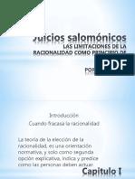 Juicios Salomonicos