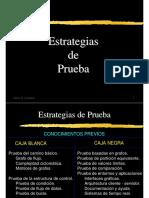 Estrategias de Prueba