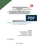 Monografia 2 Excel en Fonoaudiología