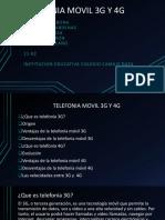 Telefonia Movil 3g y 4g