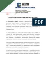 Evolución Del Derecho Informático en El Perú