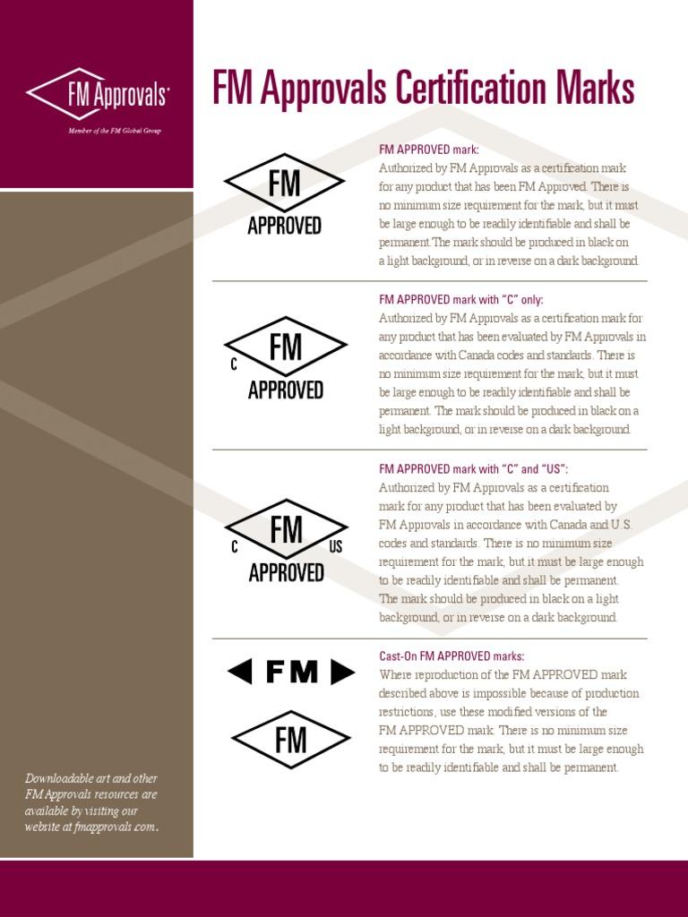 fm certification approvals