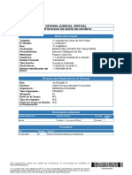 Certificado de Envio - Cumple Lo Ordenado - Cuaderno de Nulidad - 11 de Mayo 2018