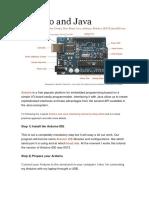 Arduino and Java