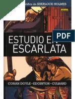 estudio escarlata Novela grafica