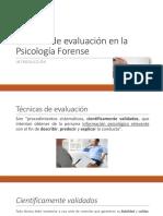 Técnicas de la Psicología Forense.pptx