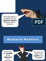 Misplaced Modifiers.ppt